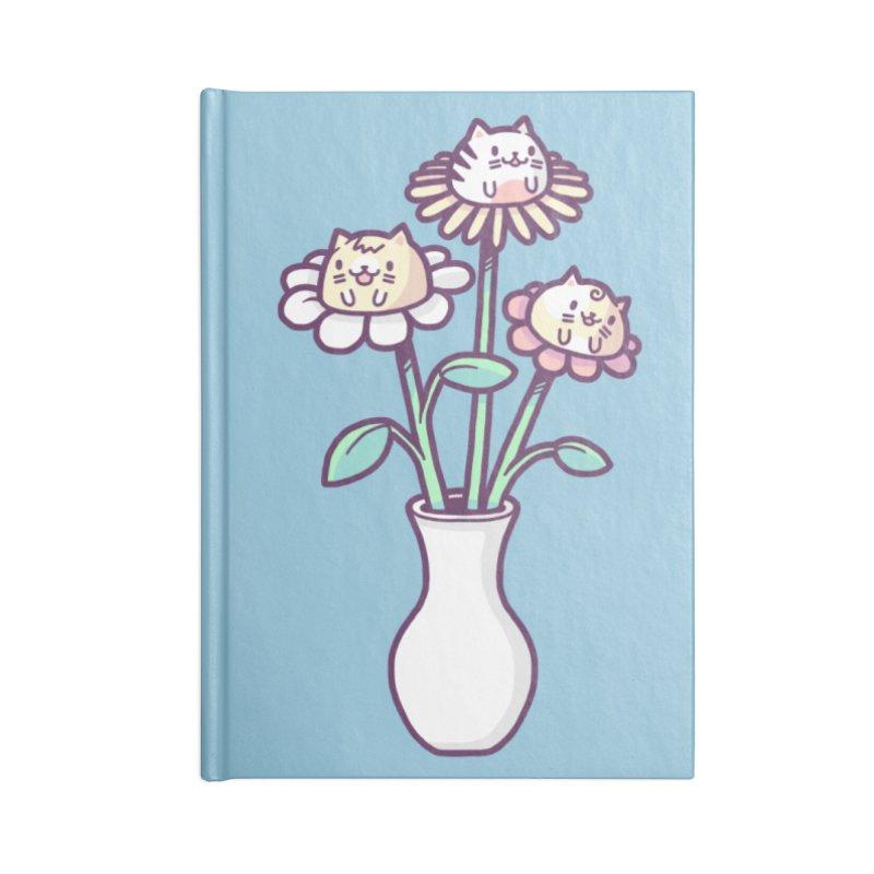 Flower felines Accessories Notebook by Randyotter