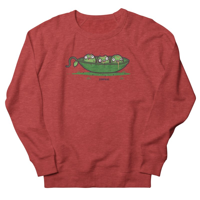 Zompeas Women's French Terry Sweatshirt by Randyotter