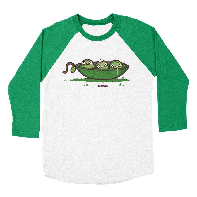 Zompeas Women's Baseball Triblend T-Shirt by Randyotter