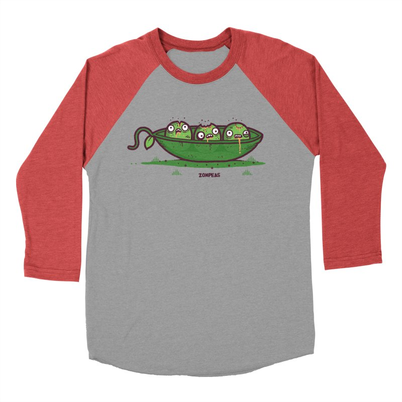 Zompeas Men's Baseball Triblend T-Shirt by Randyotter