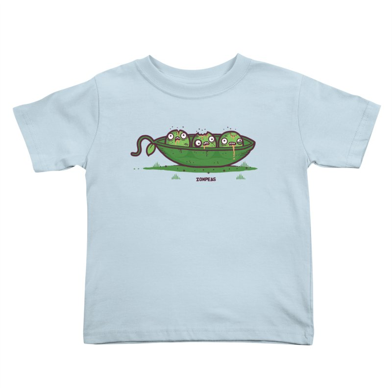 Zompeas Kids Toddler T-Shirt by Randyotter