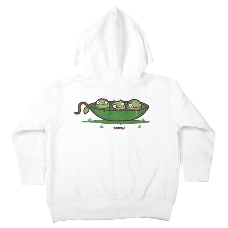 Zompeas Kids Toddler Zip-Up Hoody by Randyotter
