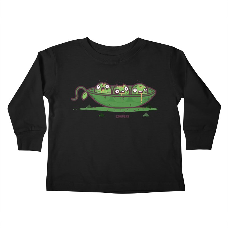 Zompeas Kids Toddler Longsleeve T-Shirt by Randyotter