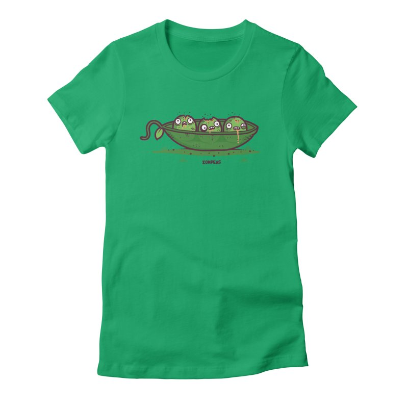 Zompeas Women's Fitted T-Shirt by Randyotter
