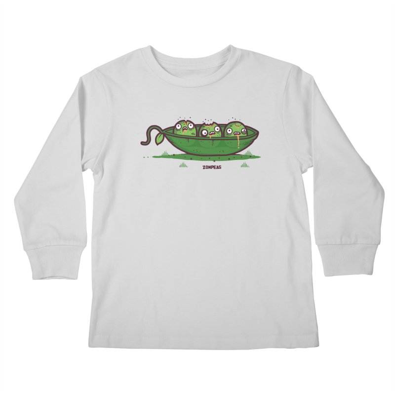 Zompeas Kids Longsleeve T-Shirt by Randyotter