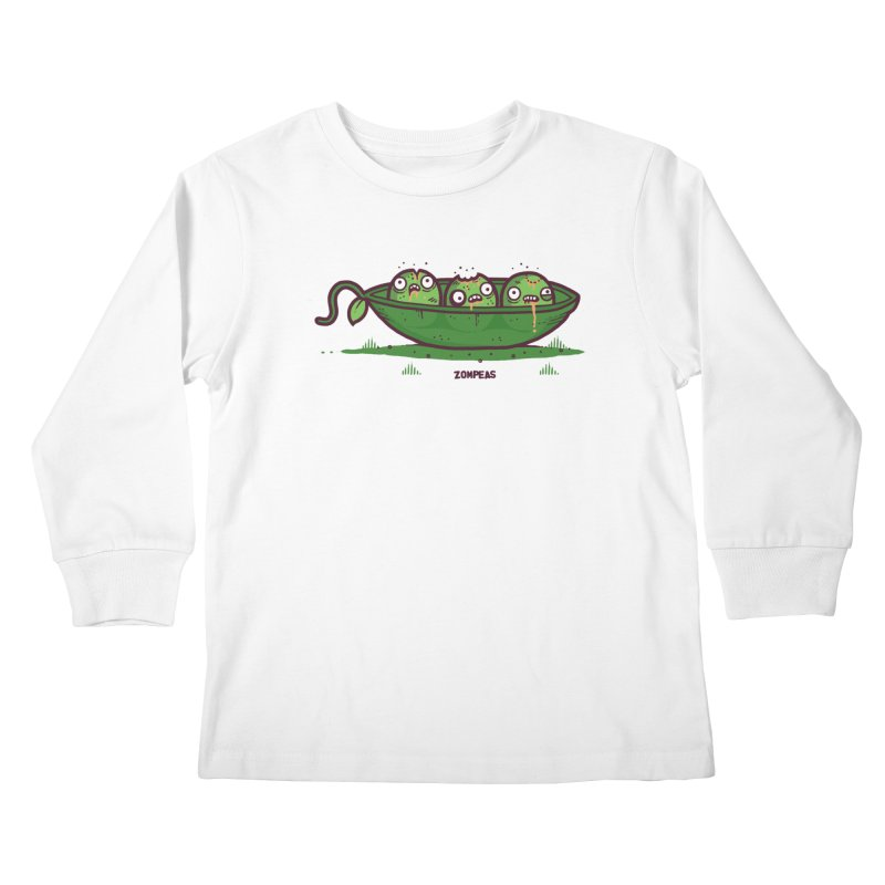 Zompeas Kids Longsleeve T-Shirt by Randyotter