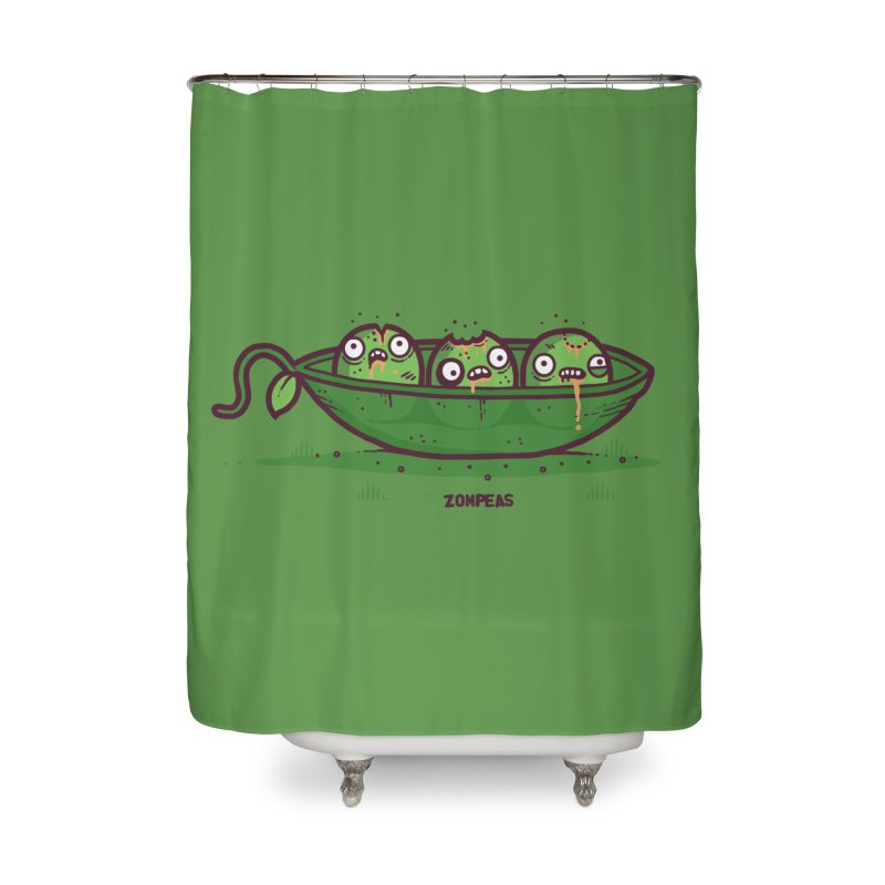 Zompeas Home Shower Curtain by Randyotter