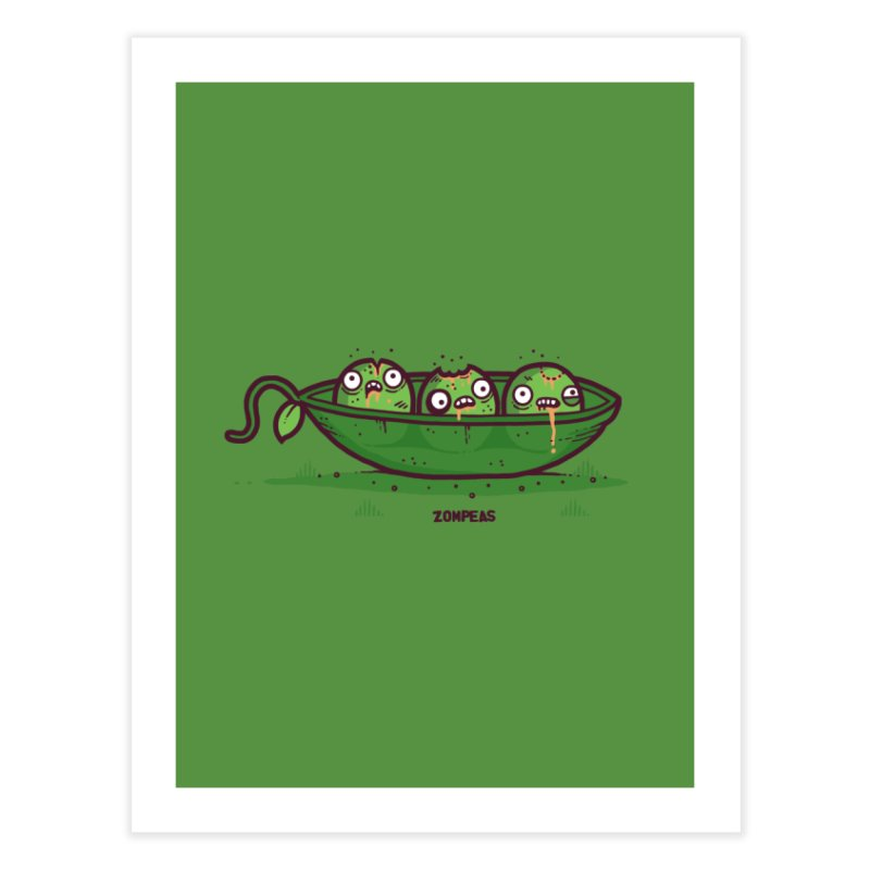Zompeas Home Fine Art Print by Randyotter