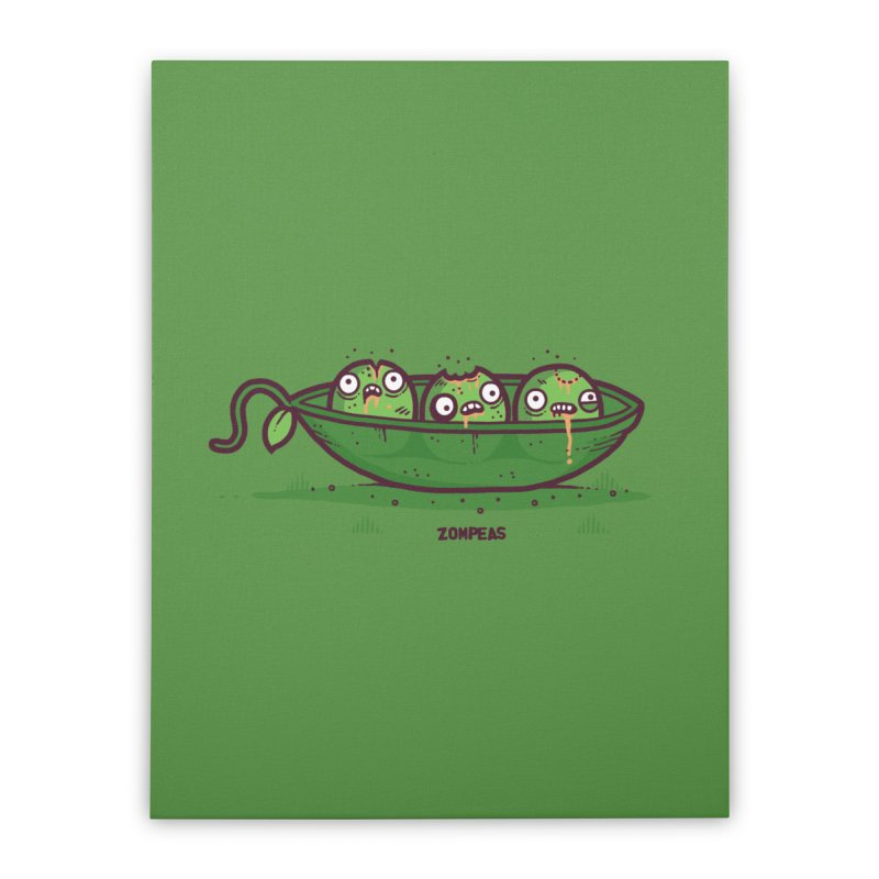 Zompeas Home Stretched Canvas by Randyotter