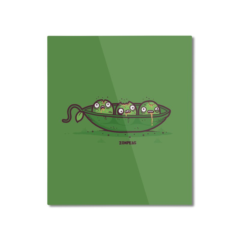 Zompeas Home Mounted Aluminum Print by Randyotter