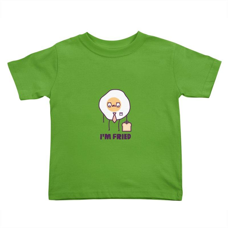 Fried Kids Toddler T-Shirt by Randyotter