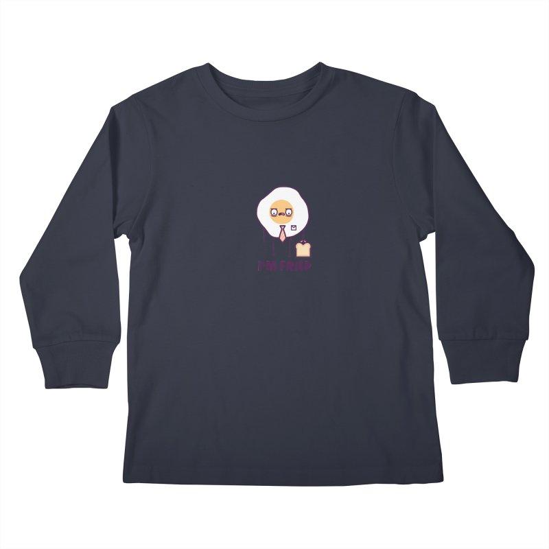 Fried Kids Longsleeve T-Shirt by Randyotter