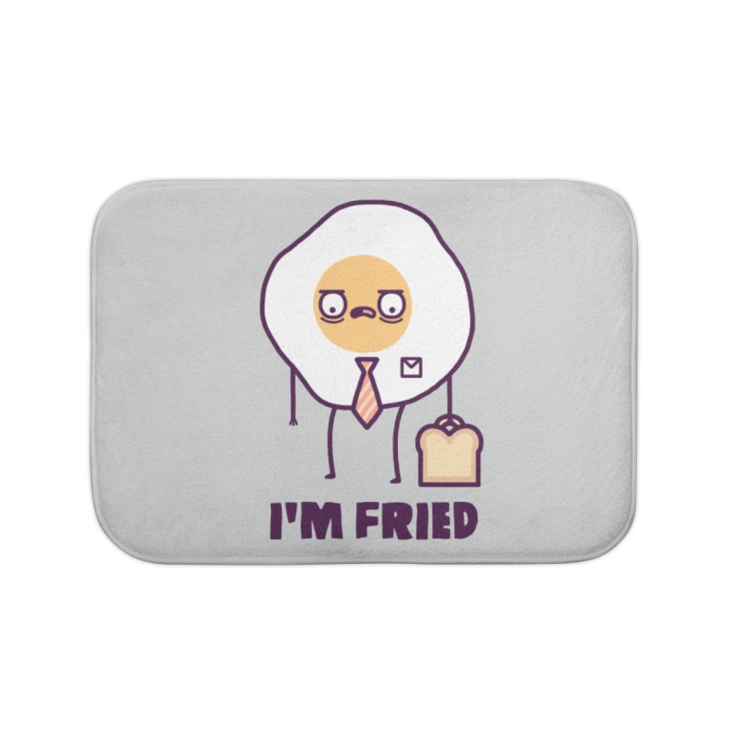Fried Home Bath Mat by Randyotter