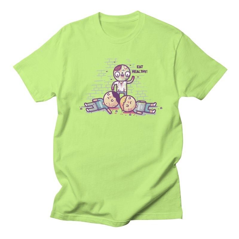 Eat flesh Men's Regular T-Shirt by Randyotter