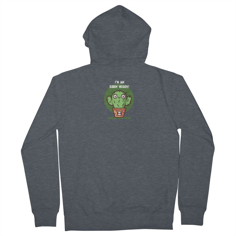 Edgy Veggy Men's French Terry Zip-Up Hoody by Randyotter