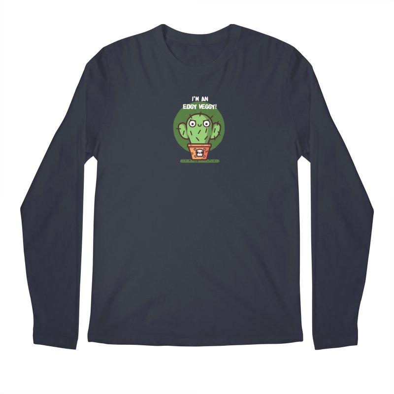 Edgy Veggy Men's Longsleeve T-Shirt by Randyotter
