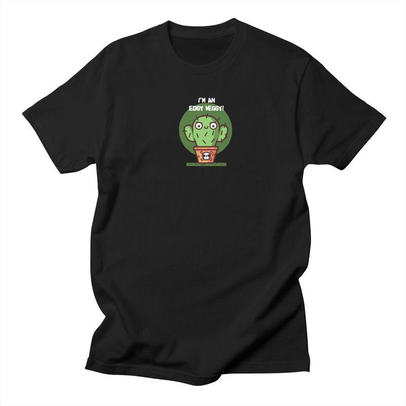 Edgy Veggy Men's T-Shirt by Randyotter