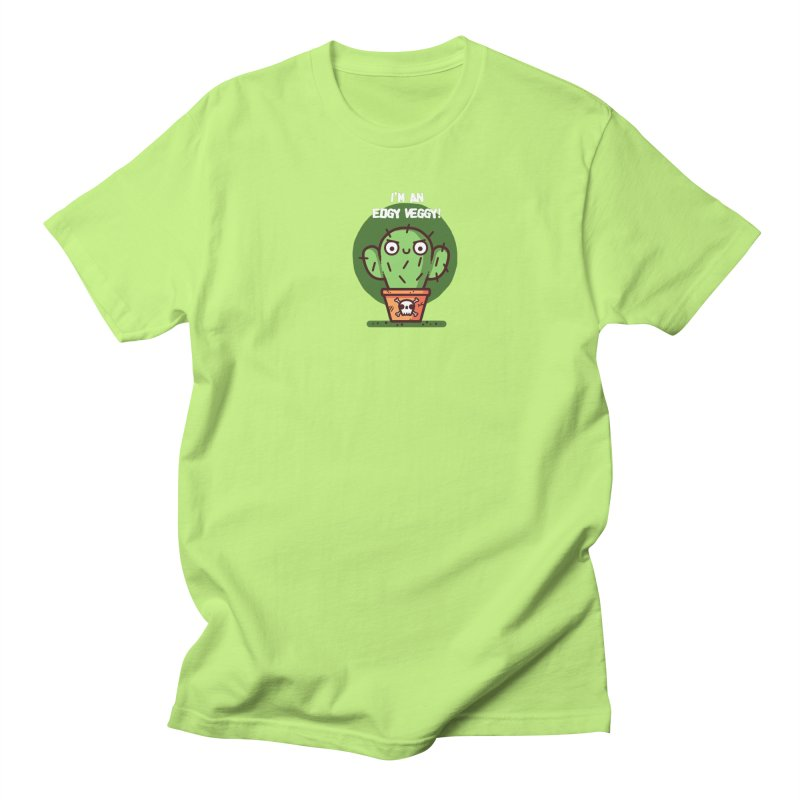 Edgy Veggy Women's Regular Unisex T-Shirt by Randyotter