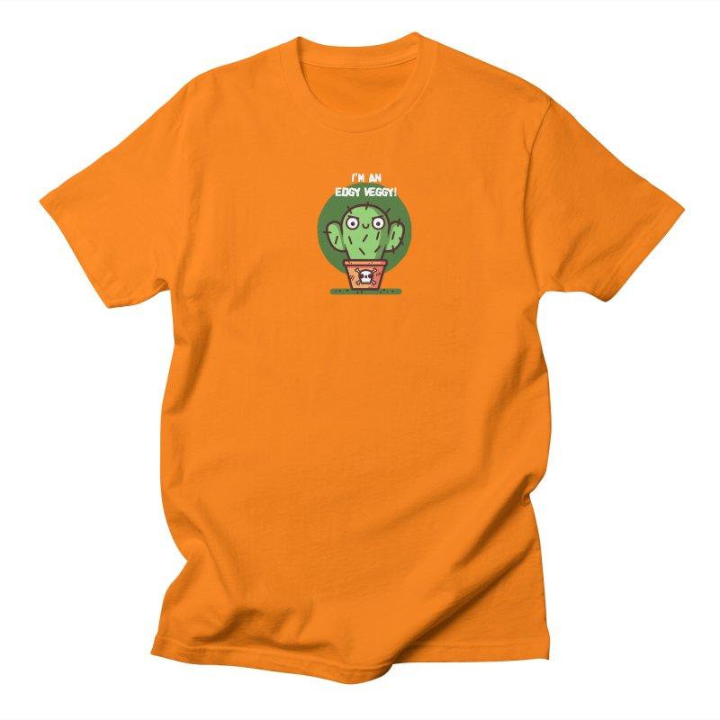 Edgy Veggy Men's Regular T-Shirt by Randyotter