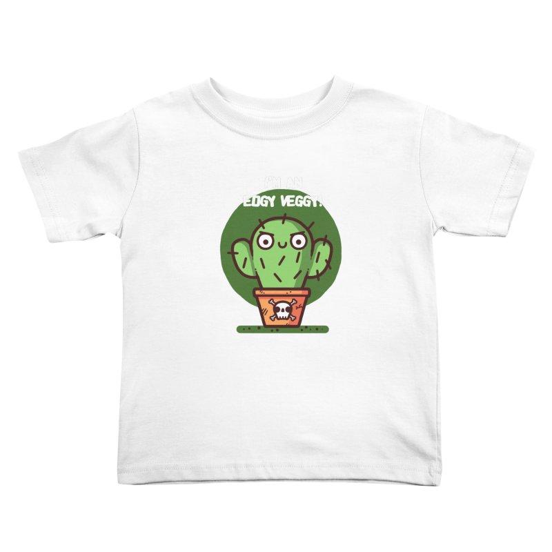 Edgy Veggy Kids Toddler T-Shirt by Randyotter