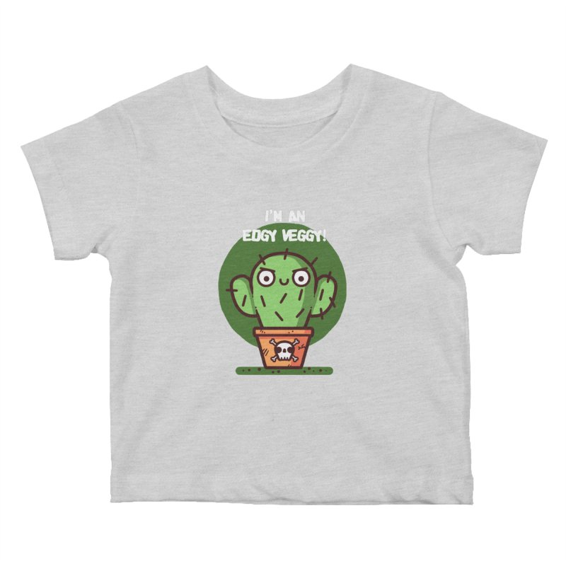 Edgy Veggy Kids Baby T-Shirt by Randyotter
