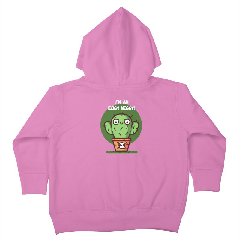 Edgy Veggy Kids Toddler Zip-Up Hoody by Randyotter