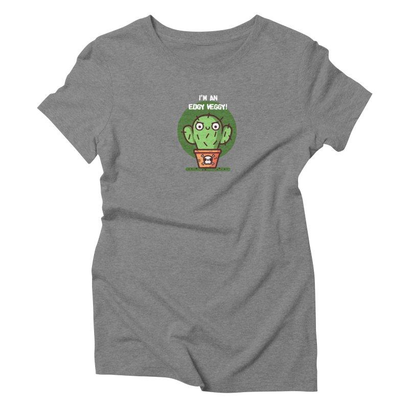 Edgy Veggy Women's Triblend T-Shirt by Randyotter