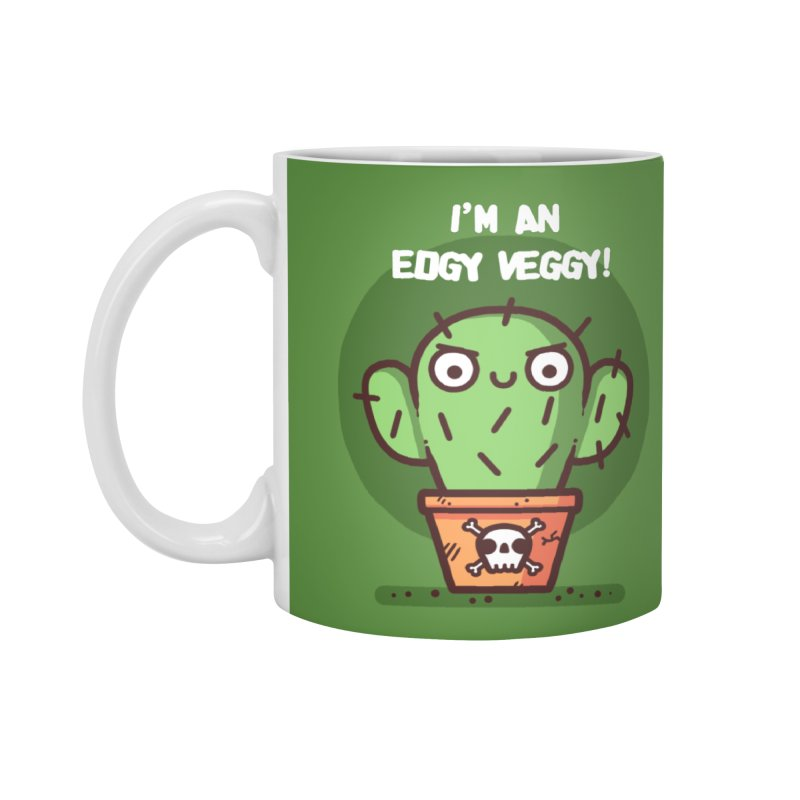 Edgy Veggy Accessories Mug by Randyotter