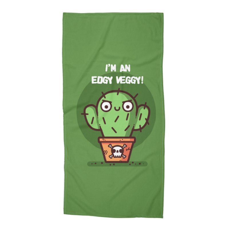 Edgy Veggy Accessories Beach Towel by Randyotter