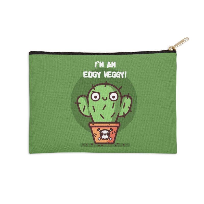 Edgy Veggy Accessories Zip Pouch by Randyotter