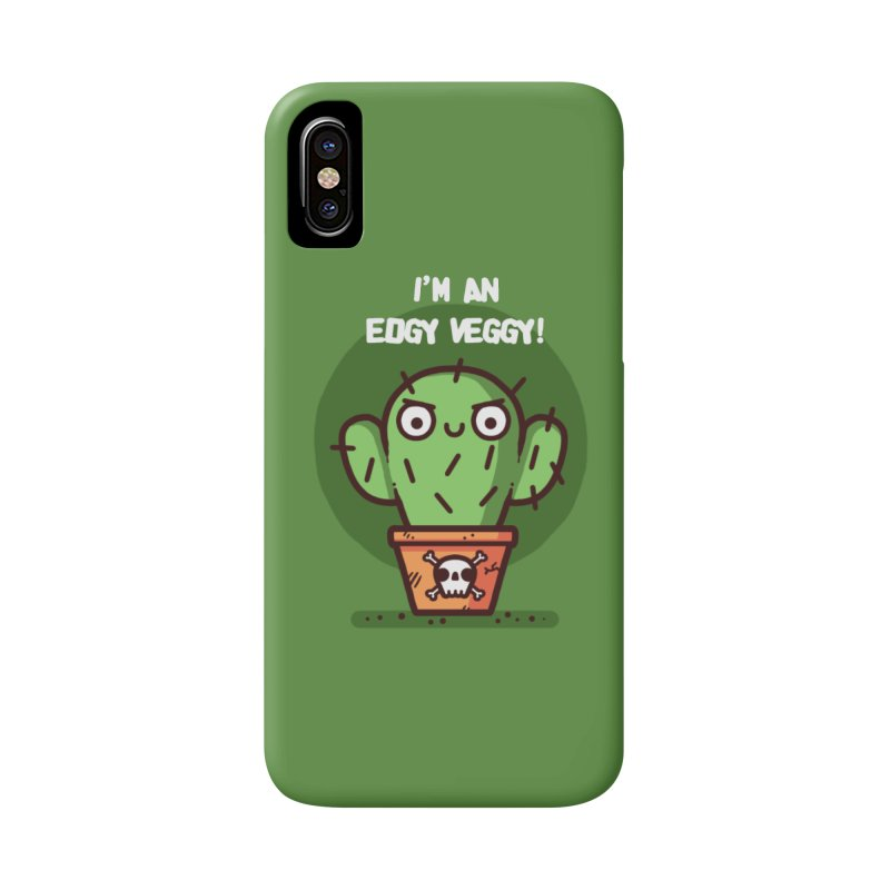 Edgy Veggy Accessories Phone Case by Randyotter