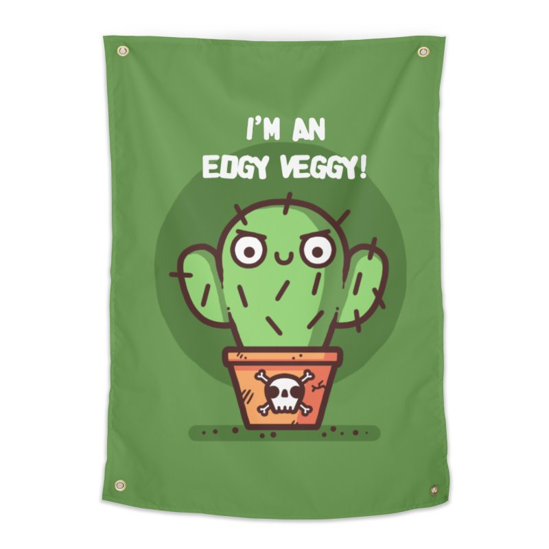 Edgy Veggy Home Tapestry by Randyotter