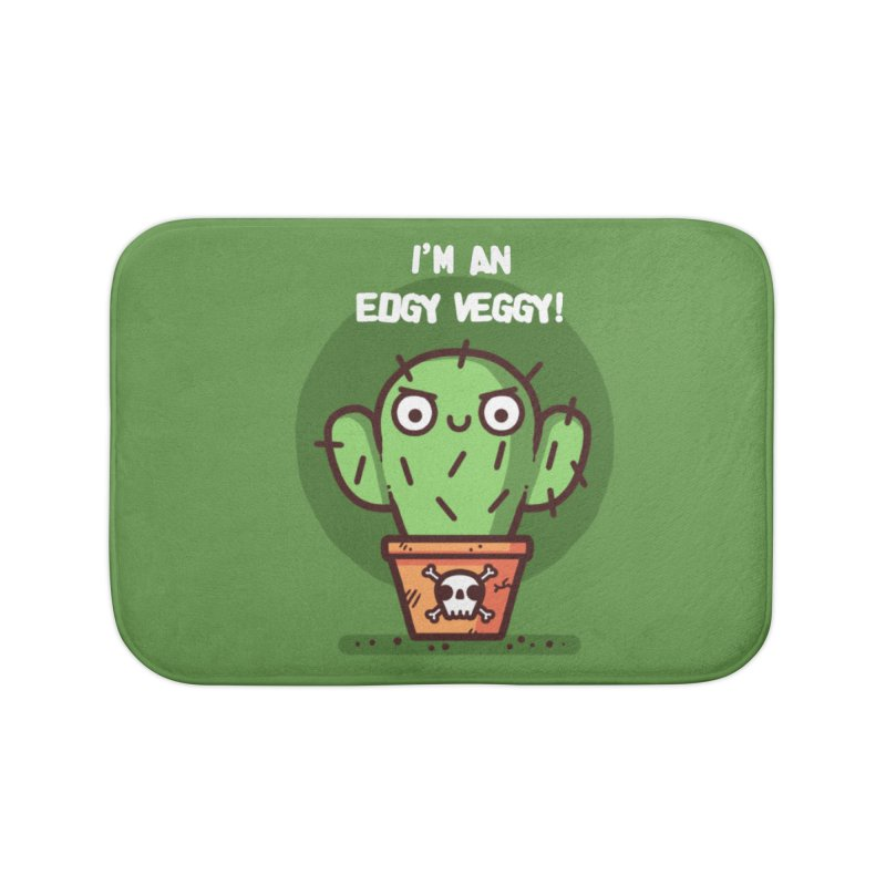 Edgy Veggy Home Bath Mat by Randyotter