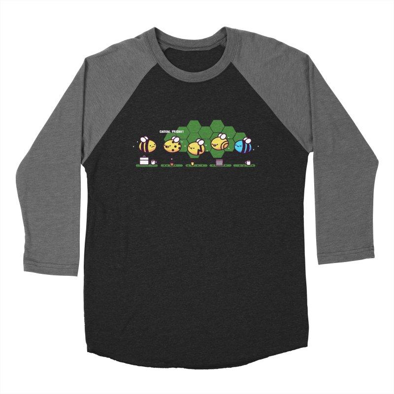 Casual Friday Women's Baseball Triblend Longsleeve T-Shirt by Randyotter