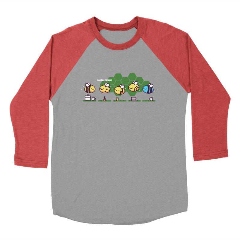 Casual Friday Men's Baseball Triblend Longsleeve T-Shirt by Randyotter