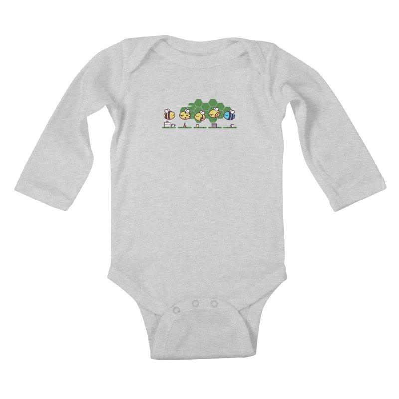 Casual Friday Kids Baby Longsleeve Bodysuit by Randyotter