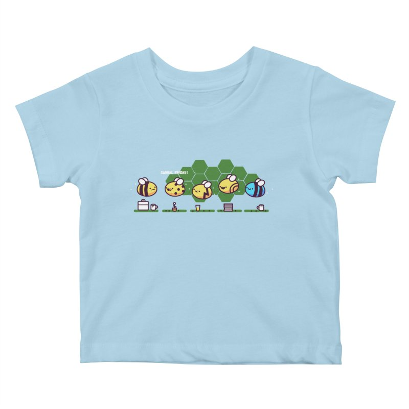 Casual Friday Kids Baby T-Shirt by Randyotter