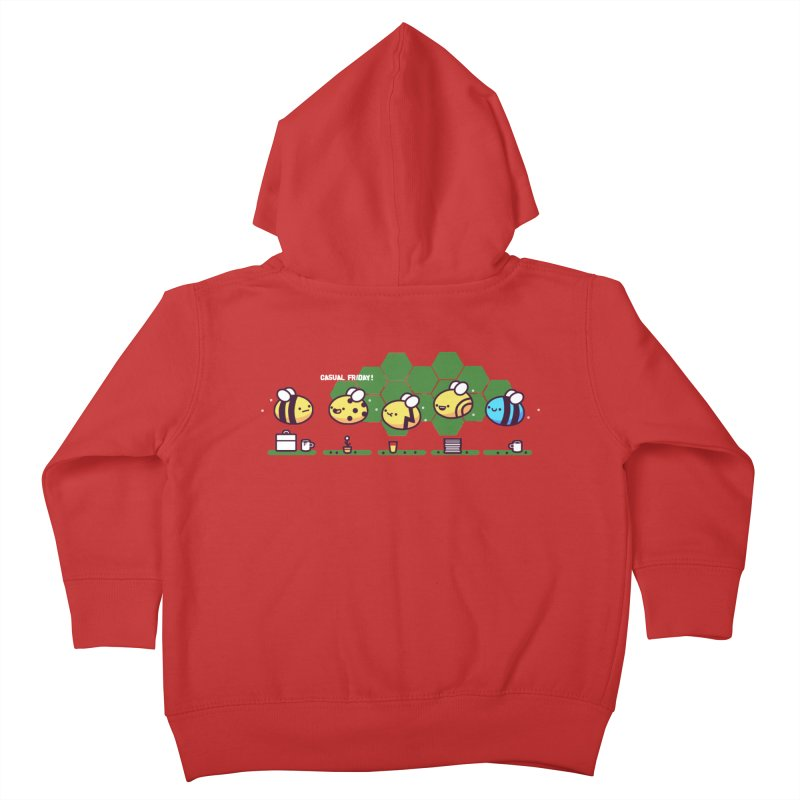 Casual Friday Kids Toddler Zip-Up Hoody by Randyotter