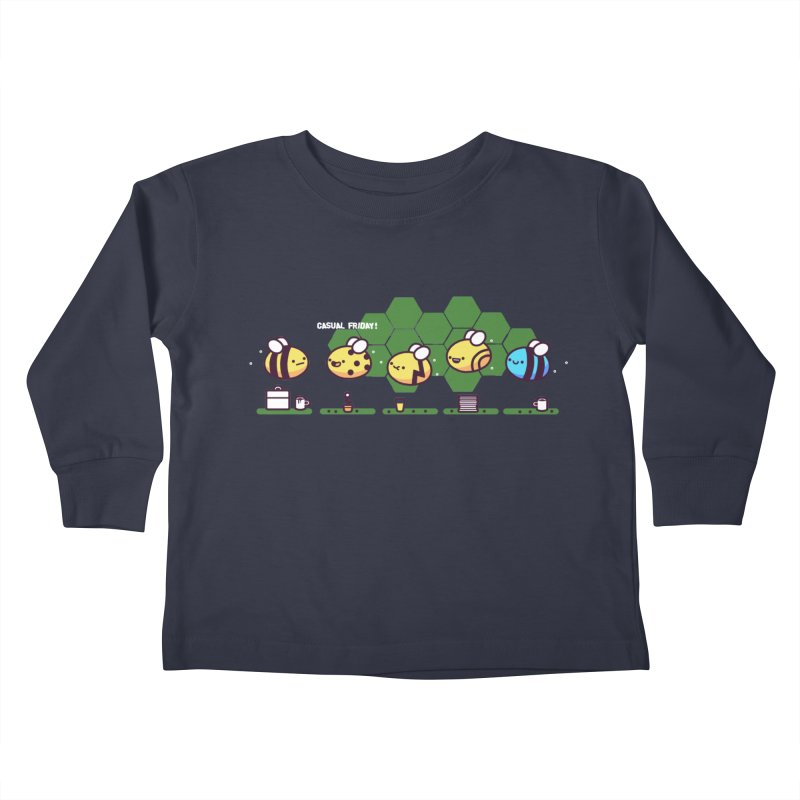 Casual Friday Kids Toddler Longsleeve T-Shirt by Randyotter