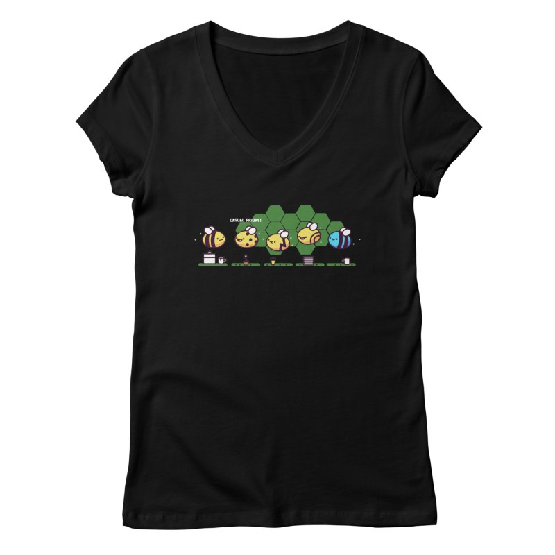 Casual Friday Women's V-Neck by Randyotter