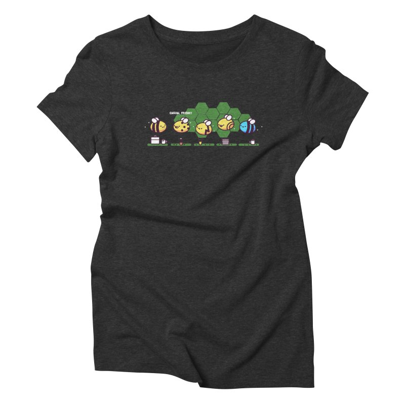 Casual Friday Women's Triblend T-Shirt by Randyotter