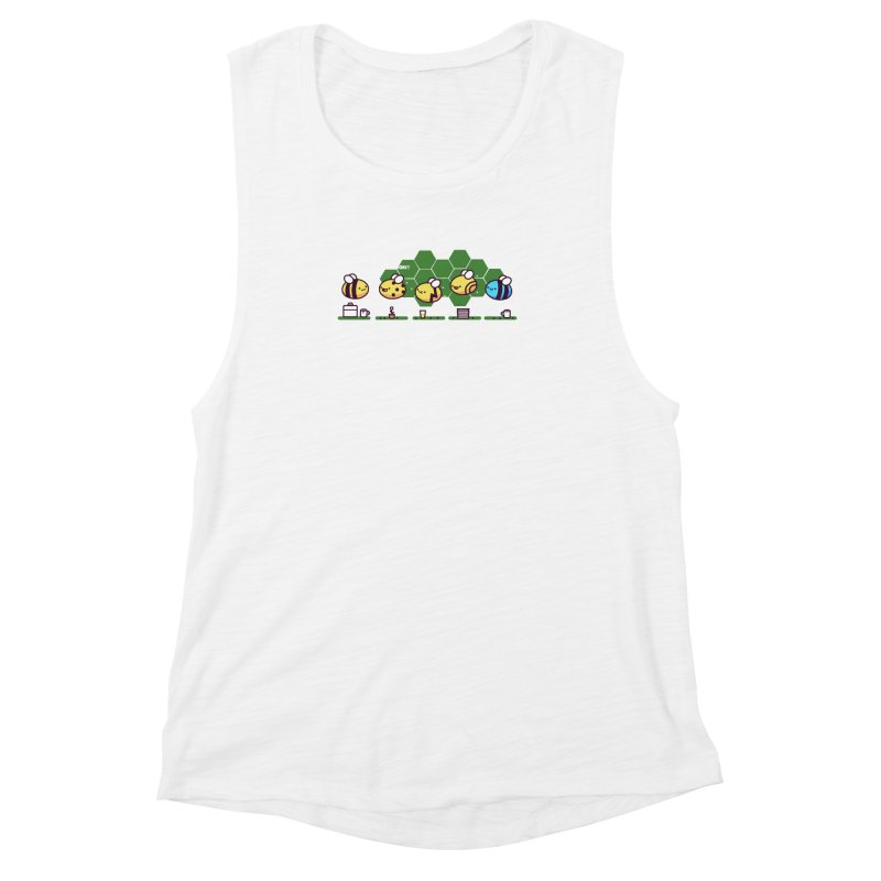 Casual Friday Women's Muscle Tank by Randyotter
