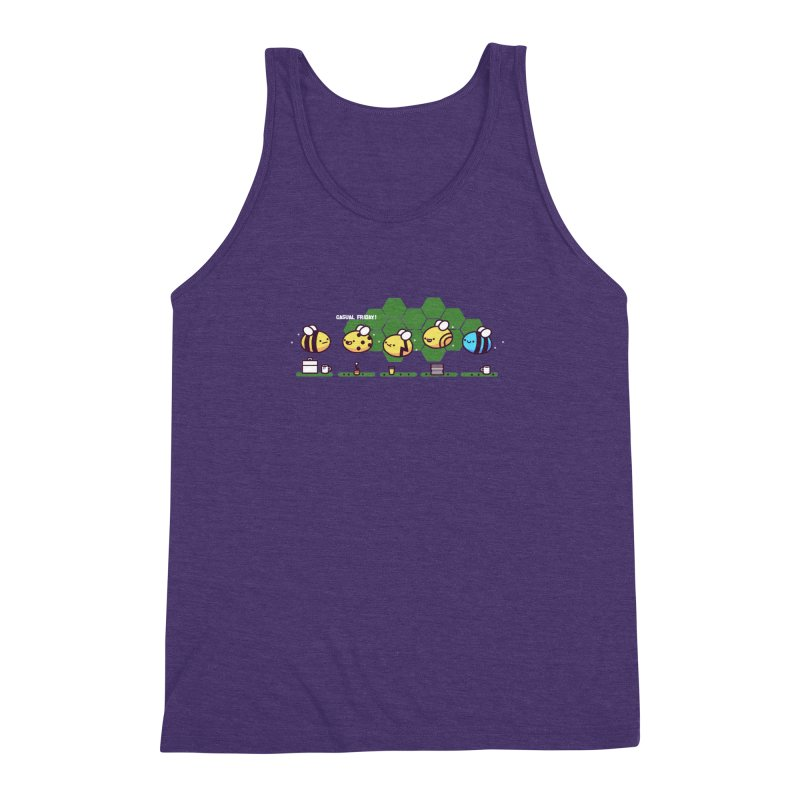Casual Friday Men's Triblend Tank by Randyotter