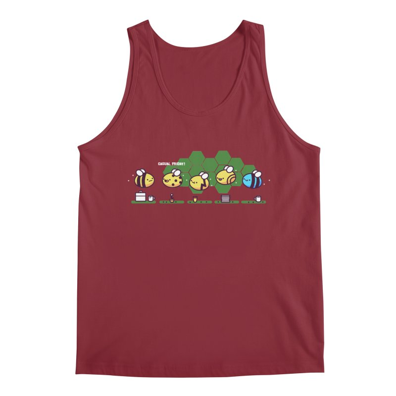 Casual Friday Men's Tank by Randyotter