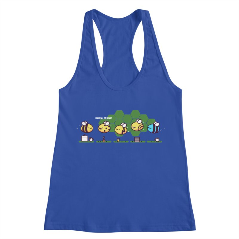 Casual Friday Women's Racerback Tank by Randyotter