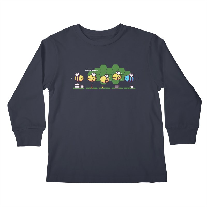 Casual Friday Kids Longsleeve T-Shirt by Randyotter