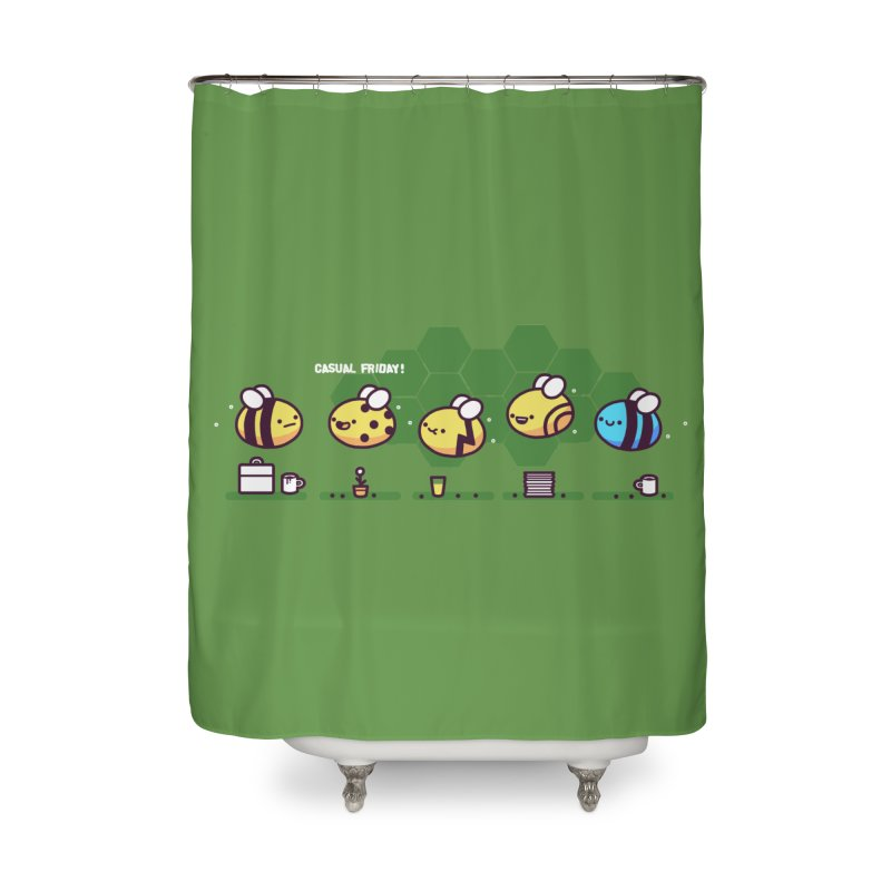 Casual Friday Home Shower Curtain by Randyotter