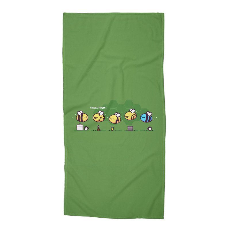 Casual Friday Accessories Beach Towel by Randyotter
