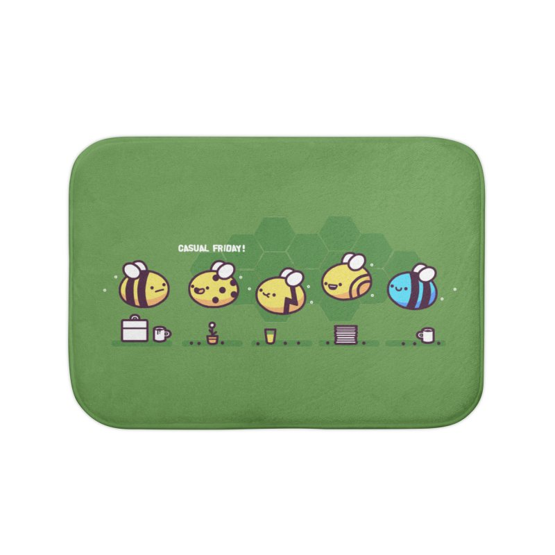 Casual Friday Home Bath Mat by Randyotter