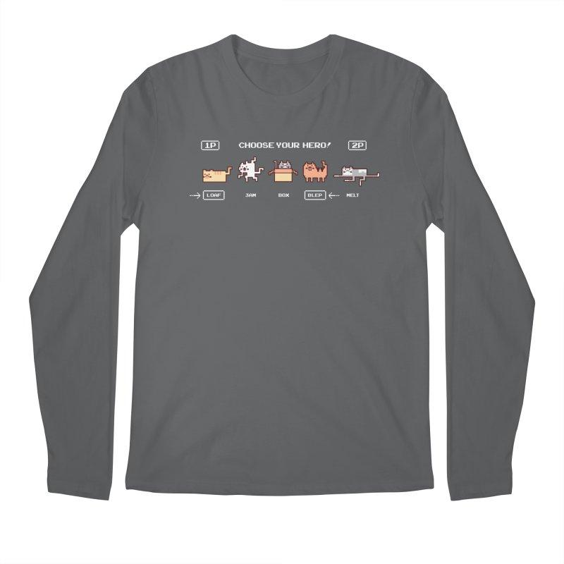 Choose your hero Men's Longsleeve T-Shirt by Randyotter